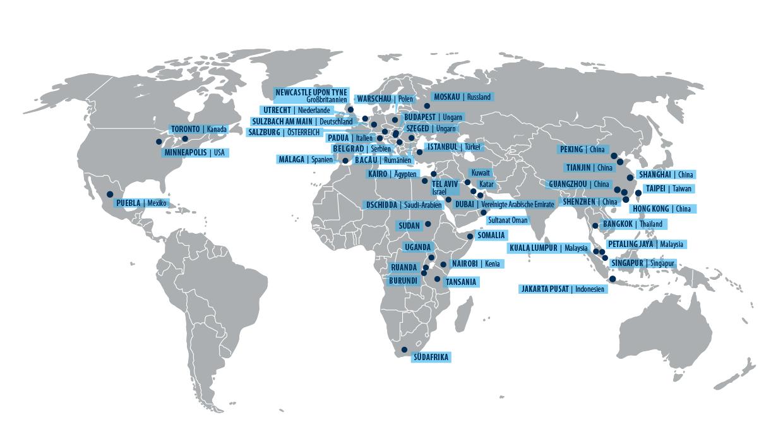 Simdustry Weltkarte